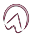 logo von huforthopädie armin eberle. zu sehen ist das profil eines hufes.